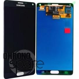 Vitre tactile et écran LCD Samsung Galaxy Note 4 N910F Gris/Noir GH97-16565B (officiel)