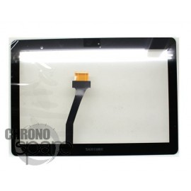 Vitre tactile Noire Samsung Galaxy Tab P5100/P5110/N8000 Ref Espresso 10