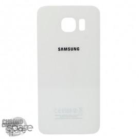 Vitre arrière Samsung S6 Edge Blanche