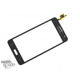 Vitre tactile noire Samsung Galaxy Grand Prime Value Edition G531F GH96-08757B (officiel)