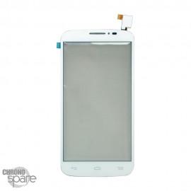 Vitre tactile Alcatel One Touch Pop C7 7041D Blanche