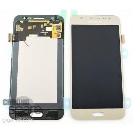 Ecran LCD + Vitre tactile Or Samsung J500F (officiel) GH97-17667C