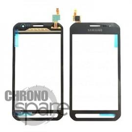 Vitre tactile Samsung Galaxy Xcover 3 Gris (officiel) GH96-08355A