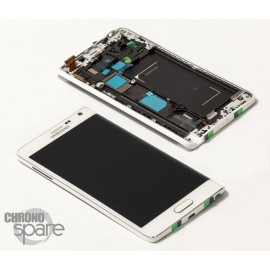 Ecran LCD + Vitre tactile Blanche Samsung Galaxy Note Edge (officiel) GH97-16636B