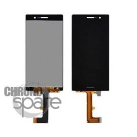 Ecran LCD + Vitre tactile Noire Huawei Ascend P7