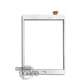 Vitre tactile Blanche Samsung Galaxy Tab A T550/T551/T555