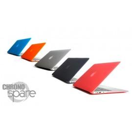 Coque de Protection PU transparente Gris clair - MacBook Air 13.3