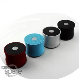 Haut-parleur Bluetooth Aluminium Bleu