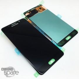 Ecran LCD + Vitre tactile noire Samsung A5 2016 A510F (officiel) GH97-18250B