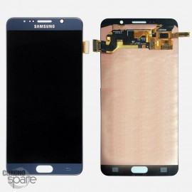 Vitre Tactile + Ecran LCD Noir Samsung Galaxy Note 5 N920F GH97-17755B (officiel)
