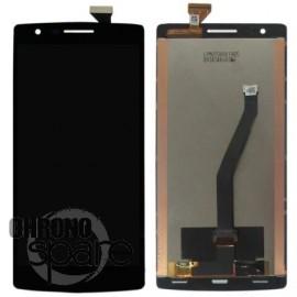 Ecran LCD + Vitre Tactile Noire OnePlus One