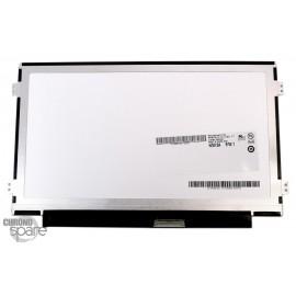 Ecran 10 pouces LED Brillant 1024*600 connecteur droite fixation sur les côtés AUO B101AW06 40 pins