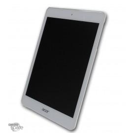 Ecran LCD + Vitre tactile blanche Acer A1-830