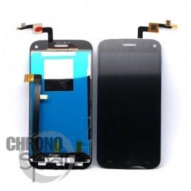 Ecran LCD et Vitre Tactile Noire Wiko Darkmoon - M121-K50130-000