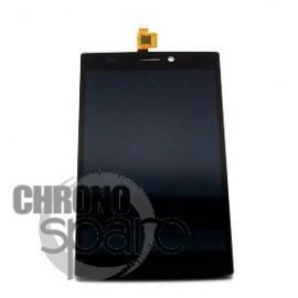 Ecran LCD + Vitre Tactile Noire Wiko Ridge Fab 4G - N402-Q67131-000