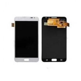 Vitre tactile et écran LCD Samsung Galaxy Note N7000 blanc (officiel)
