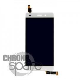 Ecran LCD + Vitre Tactile Blanche Huawei Ascend P8 Lite