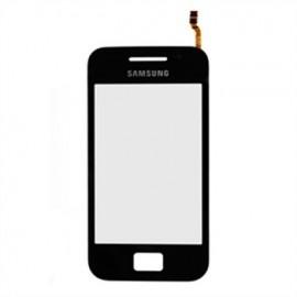 Vitre tactile Galaxy Ace S5830 noire (avec sticker)