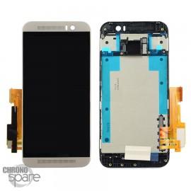 Ecran LCD et Vitre tactile Argent HTC One M9