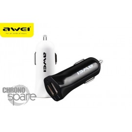 Chargeur Allume Cigare AWEI™ C-300 Blanc