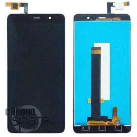 Ecran LCD et Vitre Tactile Noire Xiaomi Redmi Note 3