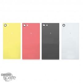 Vitre arrière Jaune Sony Xperia Z5 Compact mate