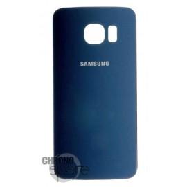 Vitre arrière Bleue Samsung galaxy S6 Edge Plus G928F