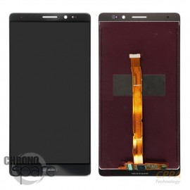 Ecran LCD & Vitre Tactile noire Huawei Ascend Mate 8