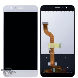 Ecran LCD & Vitre tactile blanche Honor 8