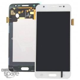 Ecran LCD et Vitre Tactile Blanche Samsung J5 2016 J510F (officiel) GH97-18792C