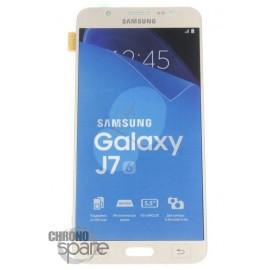 Ecran LCD et Vitre Tactile Or Samsung J7 J710F (officiel) GH97-18855A