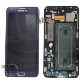 Vitre tactile + Ecran LCD Samsung Galaxy S6 Edge Plus (G928F) GH97-17819B Noir (officiel)