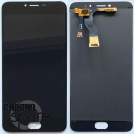 Ecran LCD + Vitre tactile noire Meizu M3 Note
