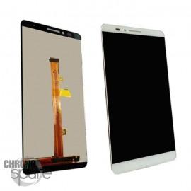 Ecran LCD + Vitre Tactile pour Huawei Ascend Mate 7 Blanc