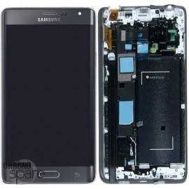 Ecran LCD + Vitre tactile Noire Samsung Galaxy Note 4 Edge N915G (officiel) GH97-16636A