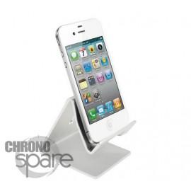 Support aluminium Noir smartphone/tablette