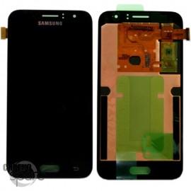 Ecran LCD + Vitre Tactile Noire Samsung J1 2016 J120F (officiel) GH97-18224C