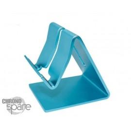 Support aluminium Bleu smartphone / tablette