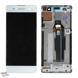 Ecran LCD & Vitre tactile blanche Sony Xperia XA (officiel) 78PA3100030