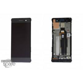 Ecran LCD et Vitre Tactile noire Sony Xperia XA (officiel) 78PA3100010