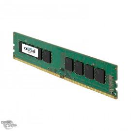 Barrette Mémoire Crucial 4Go DDR4 Dimm PC17066 1600Mhz 1.2V (CT4G4DFS8213)