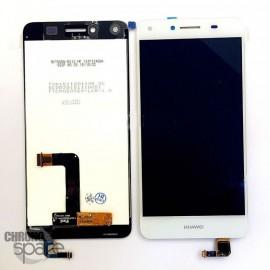 Bloc LCD + Vitre tactile Blanc Huawei Y5 II
