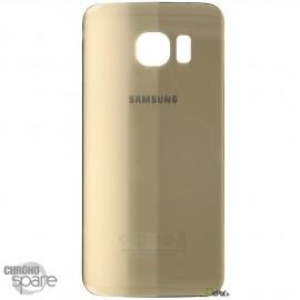 Vitre arrière Samsung S7 G930F Or