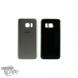 Vitre arrière Argent Samsung Galaxy S7 Edge G935F