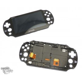 Vitre tactile et écran LCD PS Vita 2000 avec chassis
