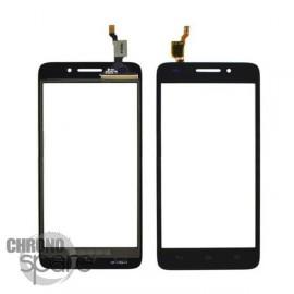 Vitre Tactile noire Huawei G620s