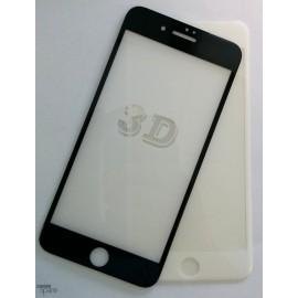 Film de protection incurvé 3D en verre trempé iPhone 6 Noir avec boite