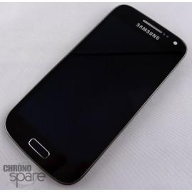 Vitre tactile + écran LCD + frame Samsung Galaxy S4 Mini i9195 Noir Edition GH97-15631A (officiel)