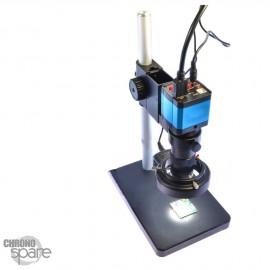 Microscope d'atelier 14 MP Zoom 180x éclairage LED