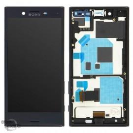 Ecran LCD et Vitre tactile noire Sony Xperia X compact F5321 (officiel)